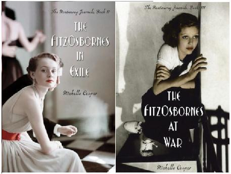 2012-11-09-the-fitzosbornes-in-exile-and-the-fitzosbornes-at-war-by-michelle-cooper